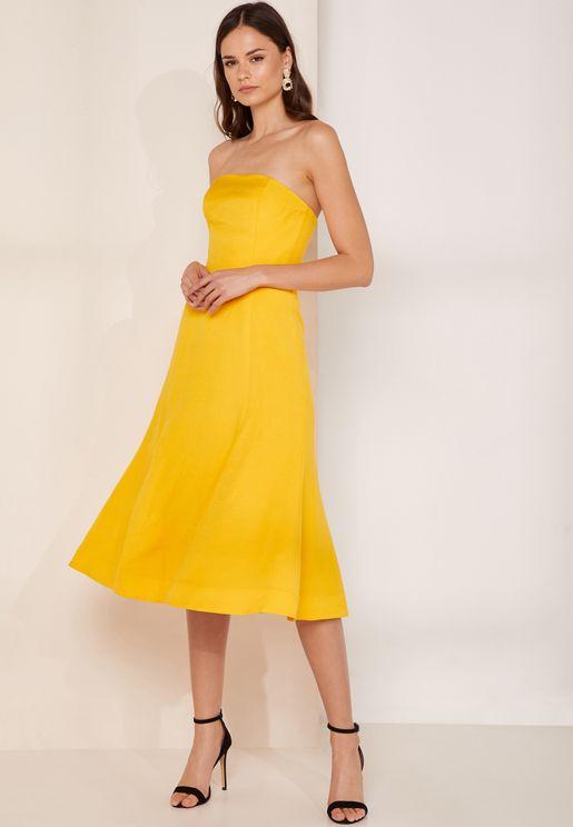 Crescent Midi Dress