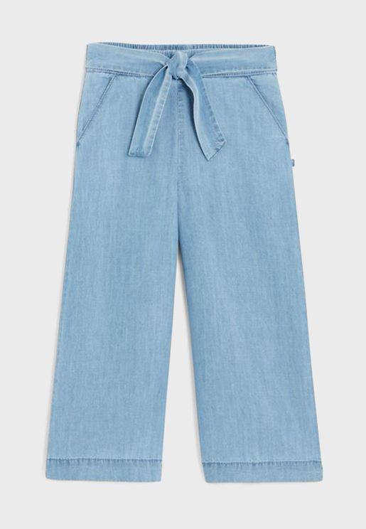 Youth Tie Waist Pants
