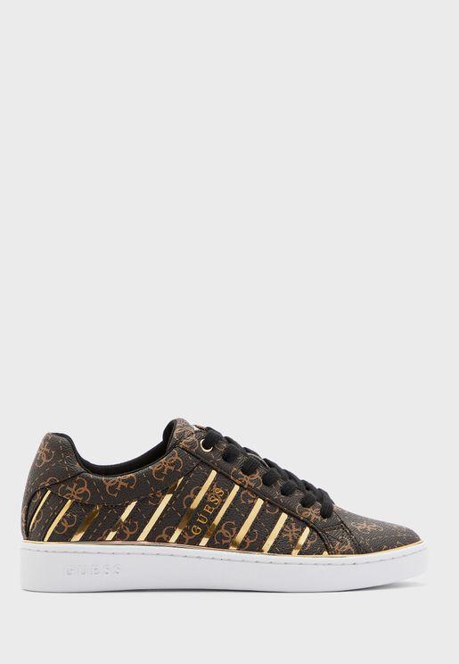 Bolier Low Top Sneaker - Brown Multi