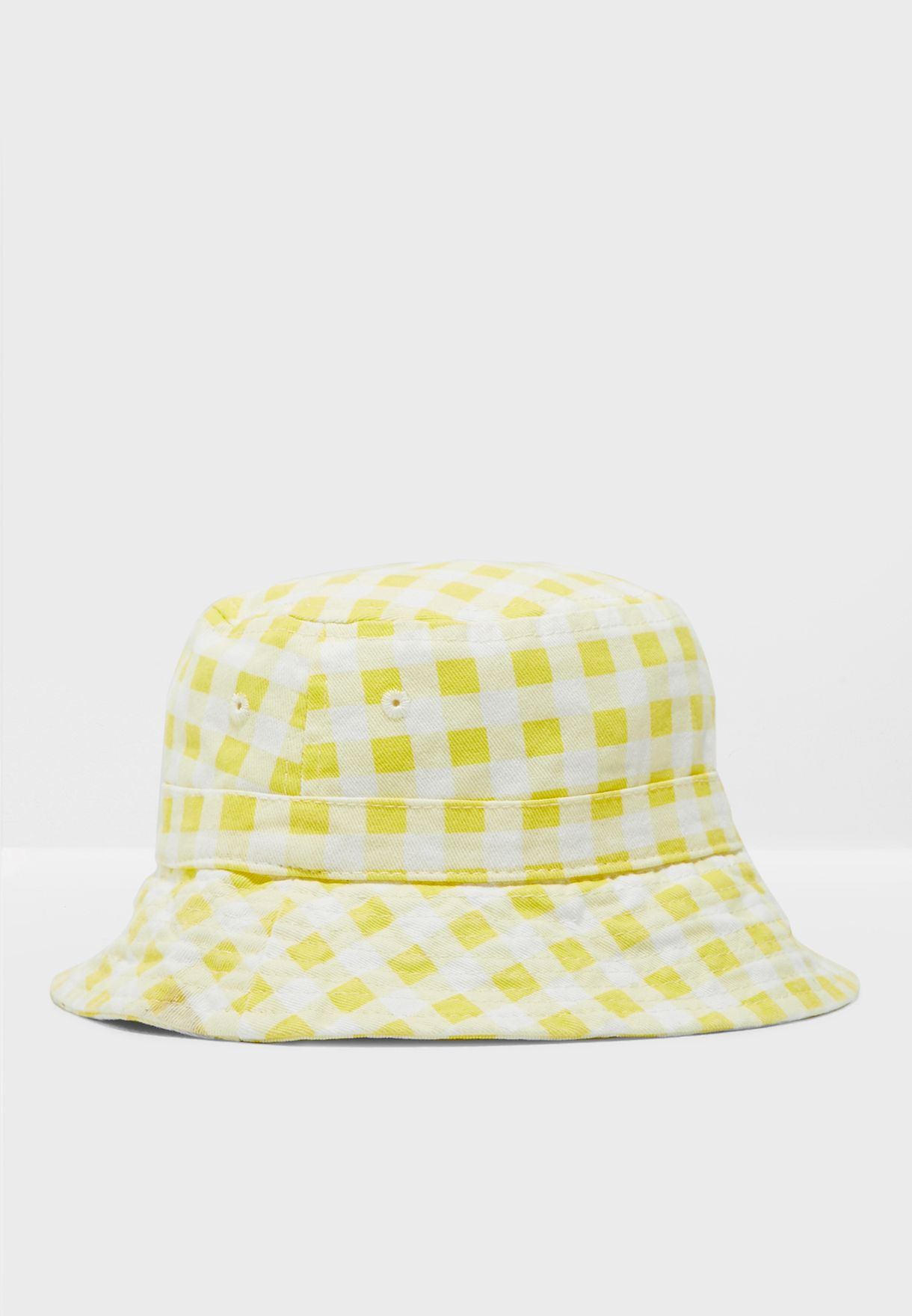 Kids Gingham Bucket Hat