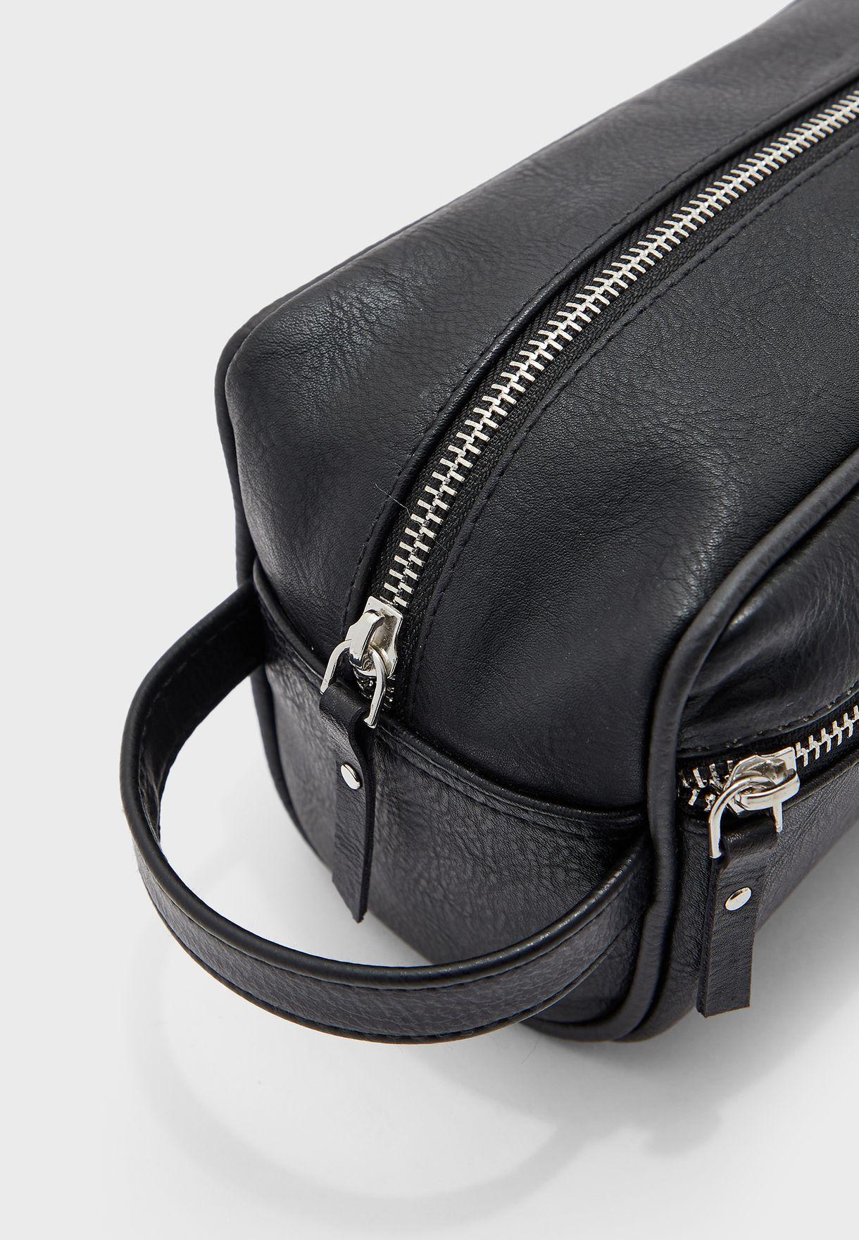 Front Zip Washbag