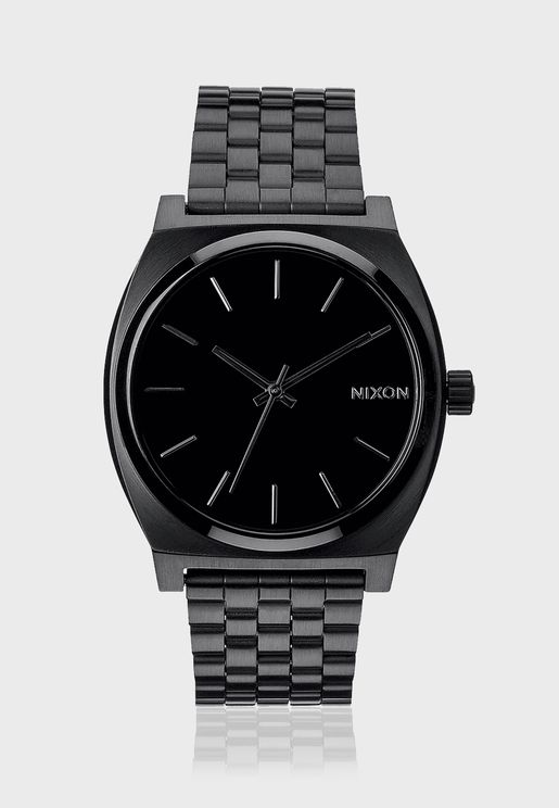 Time Teller All Black Watch