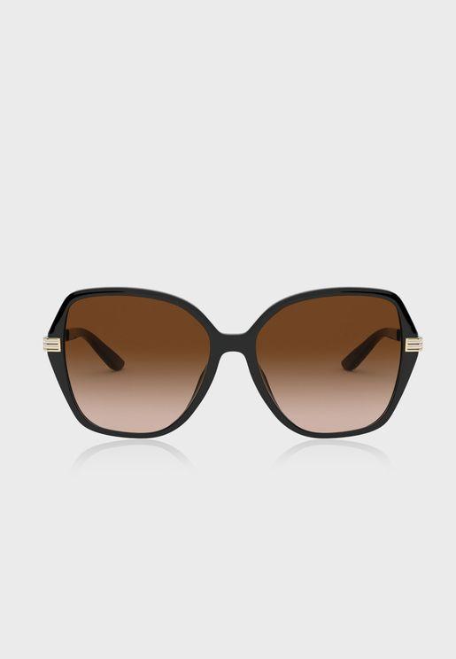 0Ty9059U Oversized Sunglasses