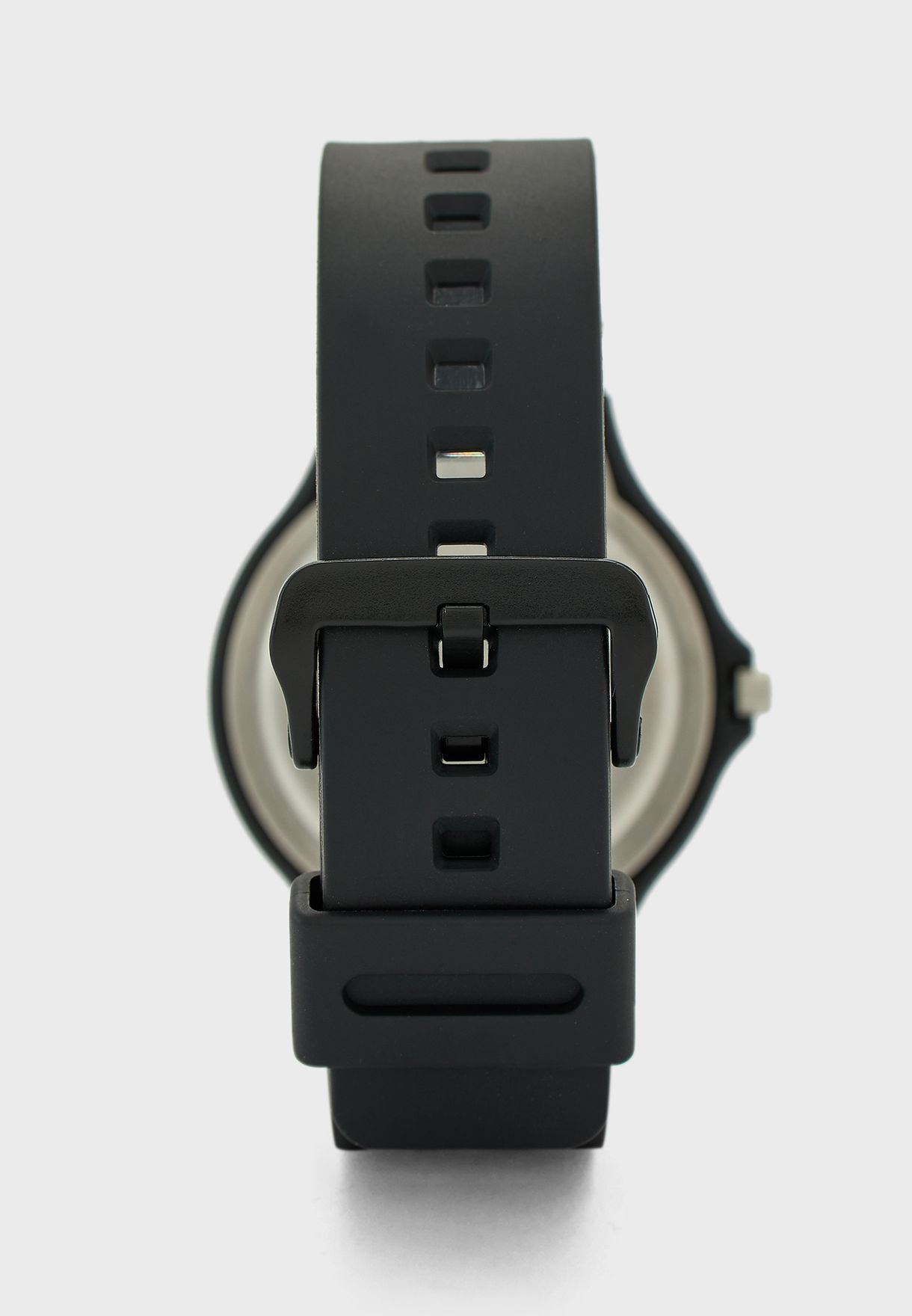 Silicone Strap Analog Watch