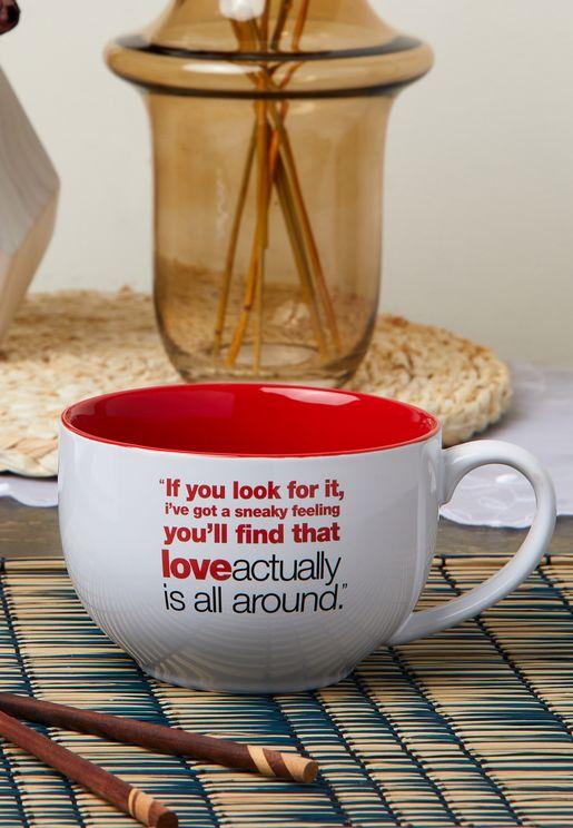 مج بطباعة كتابة Love Actually