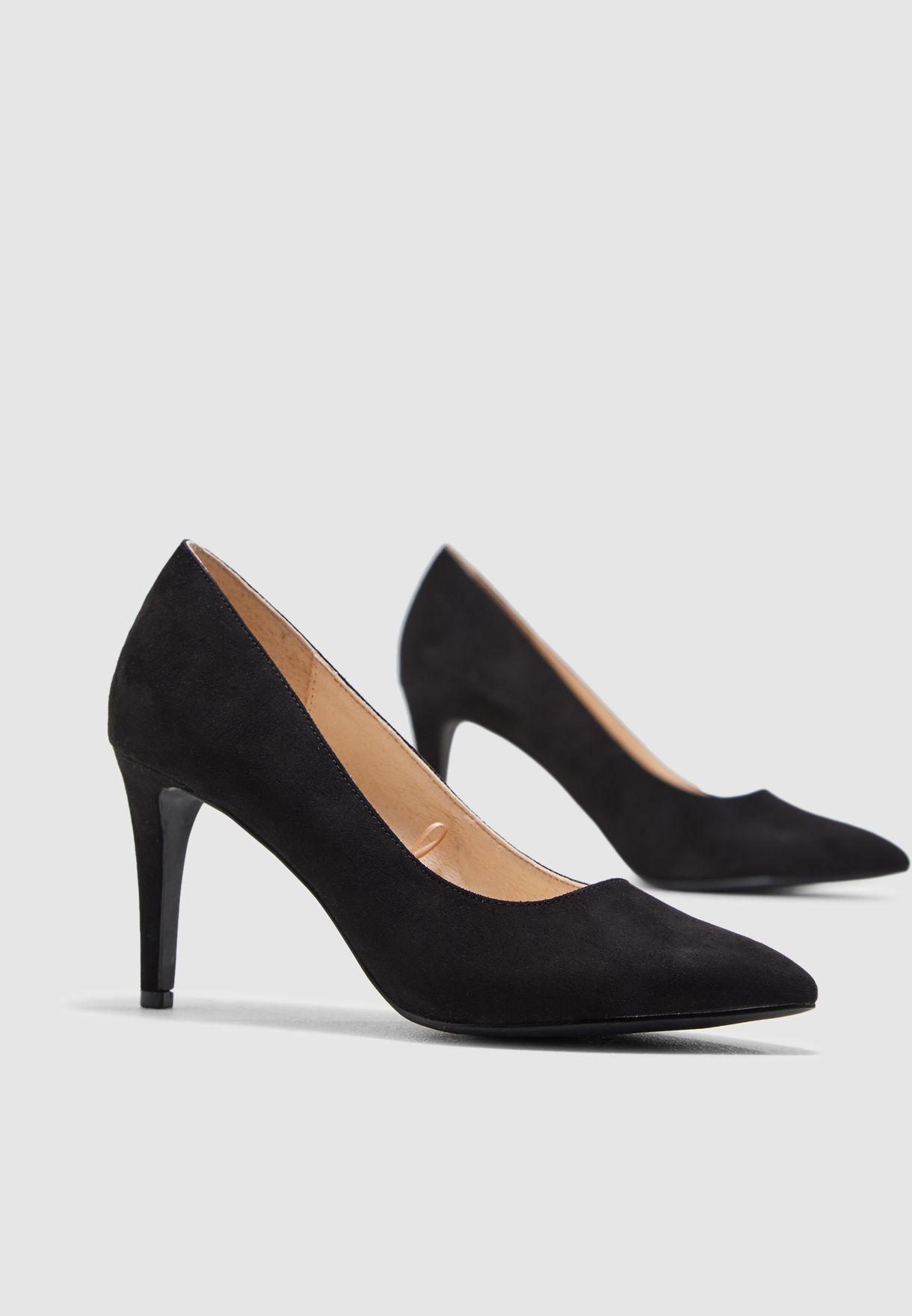 1c11ea9614 Shop Vero Moda black Melissa Pump 10203696 for Women in Saudi - 75736SH70INP