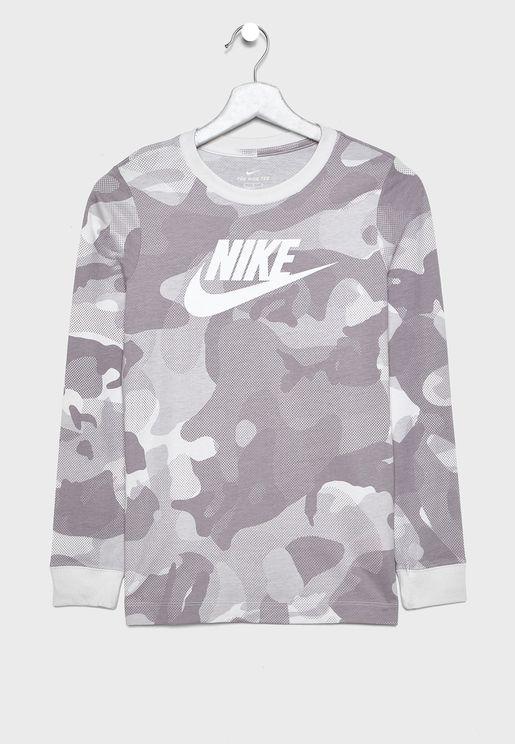 Youth NSW AOP Camo T-Shirt