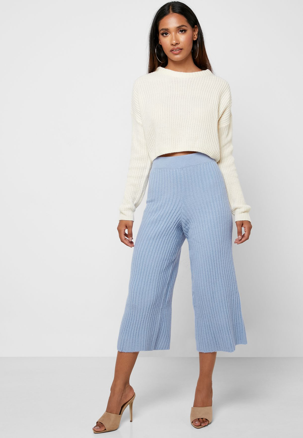 Knitted Culotte Co-Ord