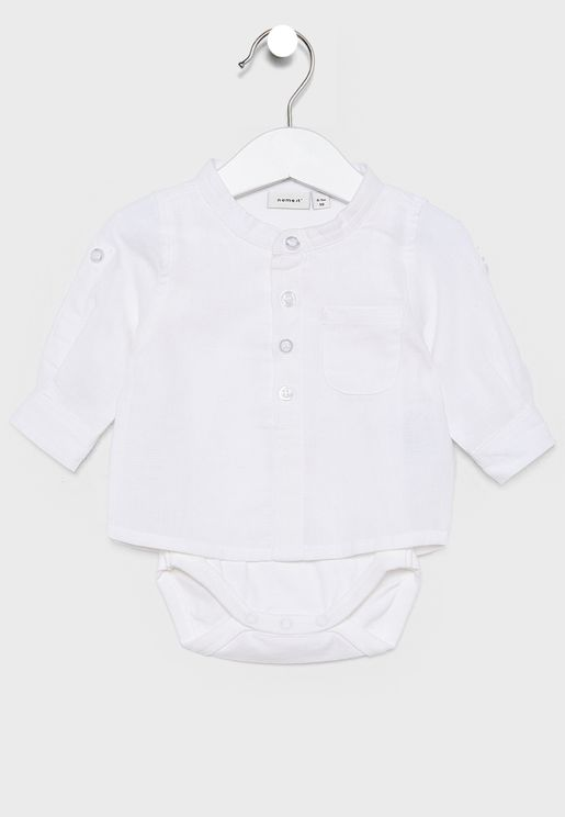 Kids Pocket Detail Shirt + Knicker Set