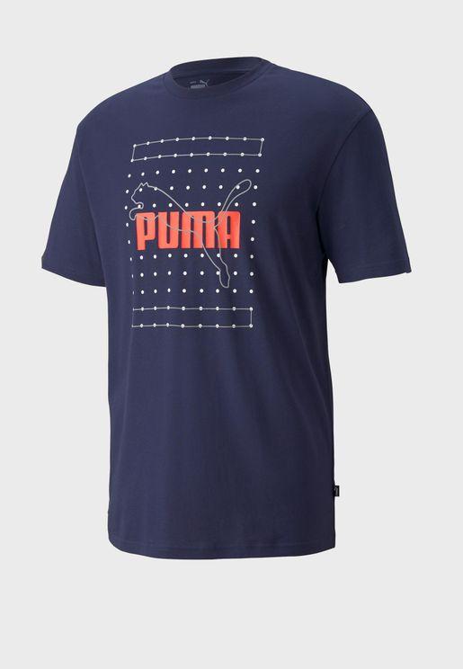 Reflective Graphic T-Shirt