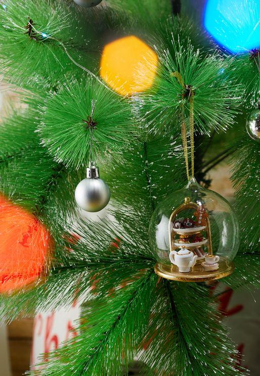 Christmas Tea Dome Bauble