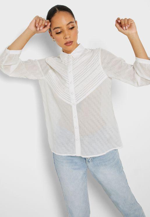 قميص شفاف