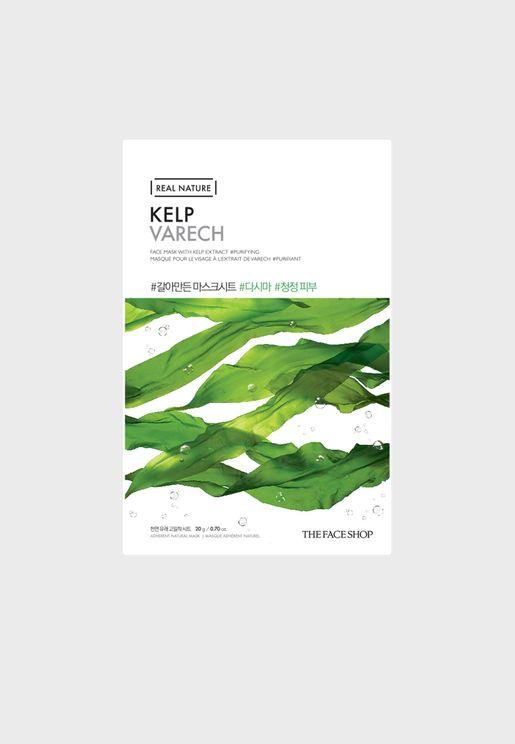Real Nature Mask Sheet - Kelp