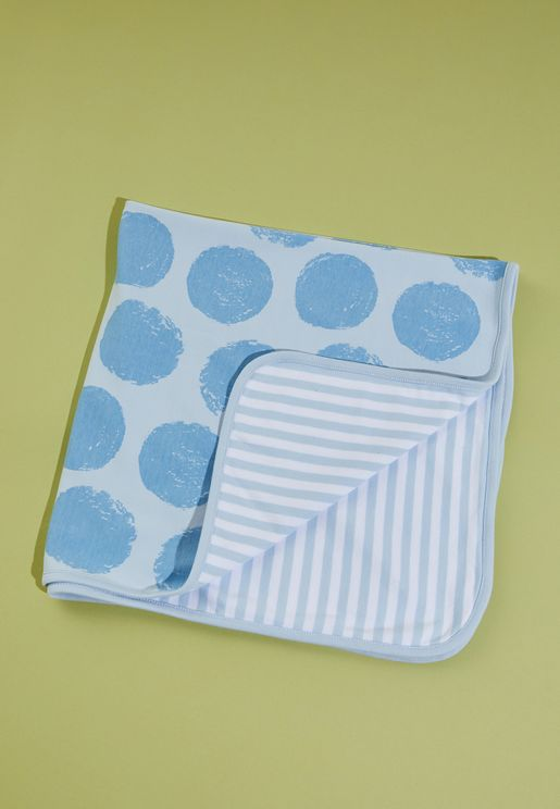 Kids Polka Dot Blanket