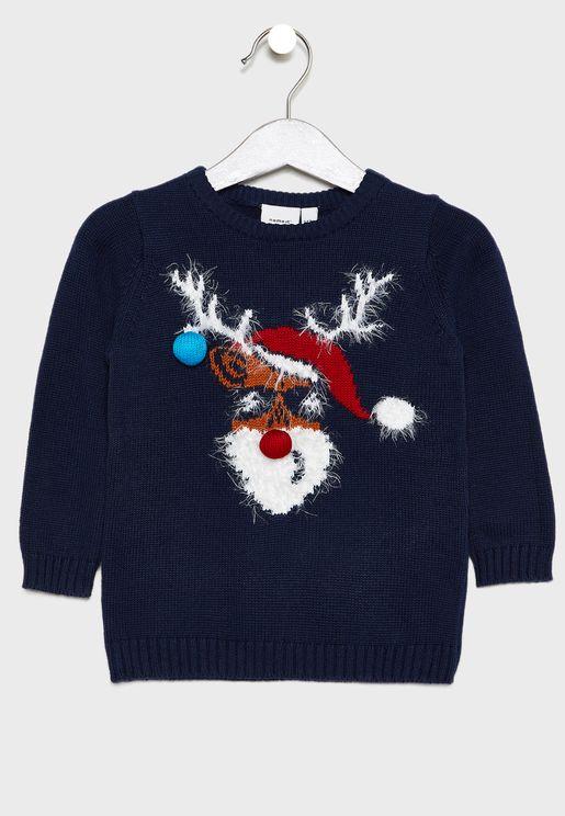 Kids Graphic Sweater