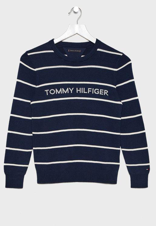 Teen Striped Sweater