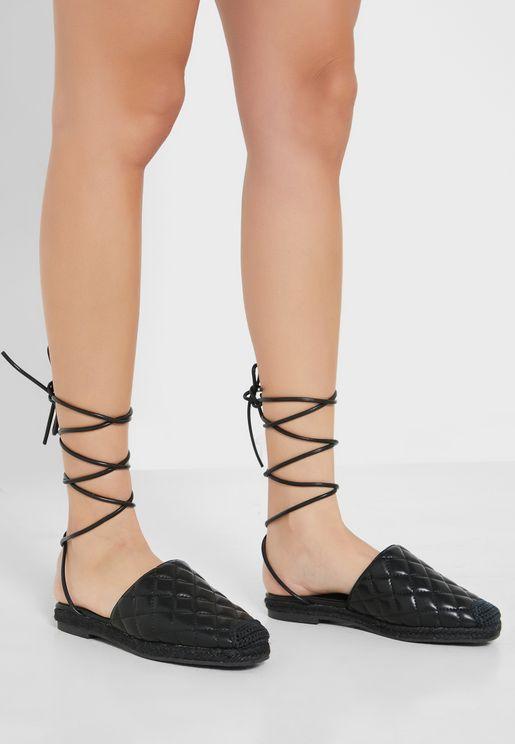 حذاء اسبادريل مبطن