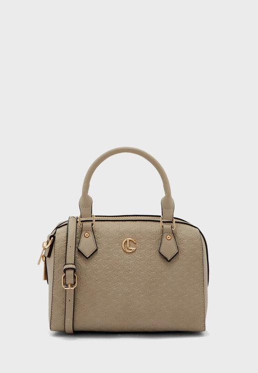 Round Top Handle Tote