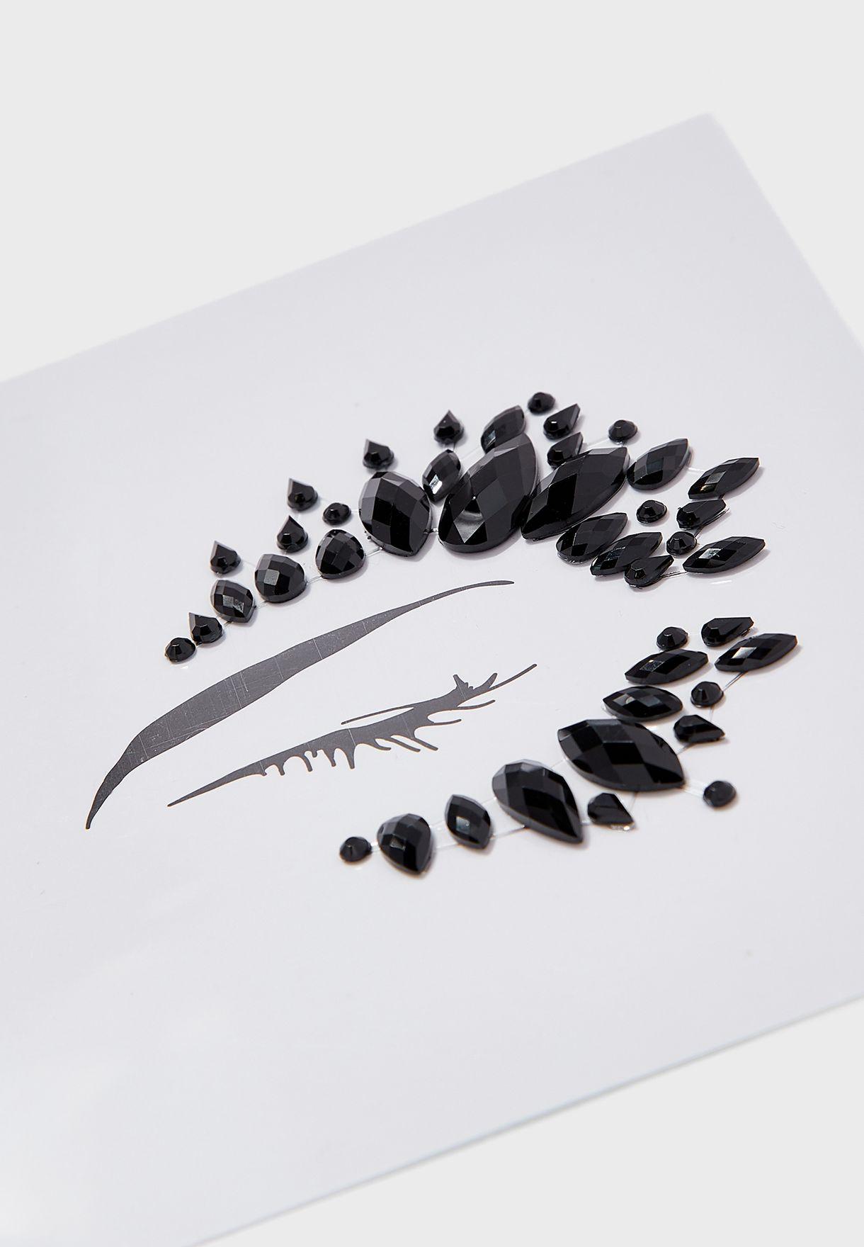 Black Face Jewel