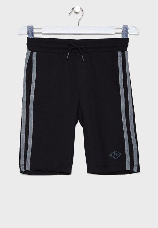 Kids Side Stripe Shorts