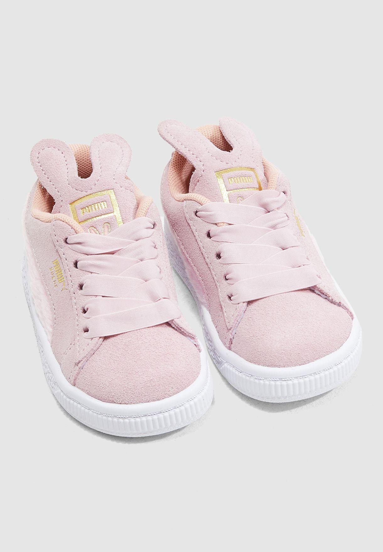 حذاء شامواه للصغار