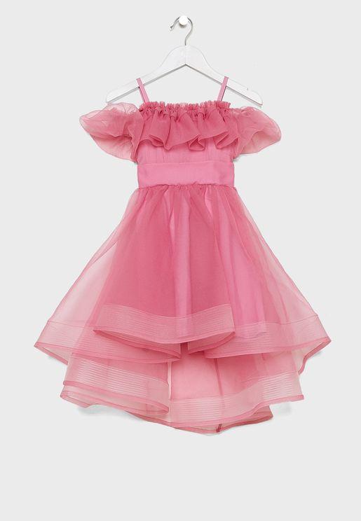 Teen Shimmer Dress
