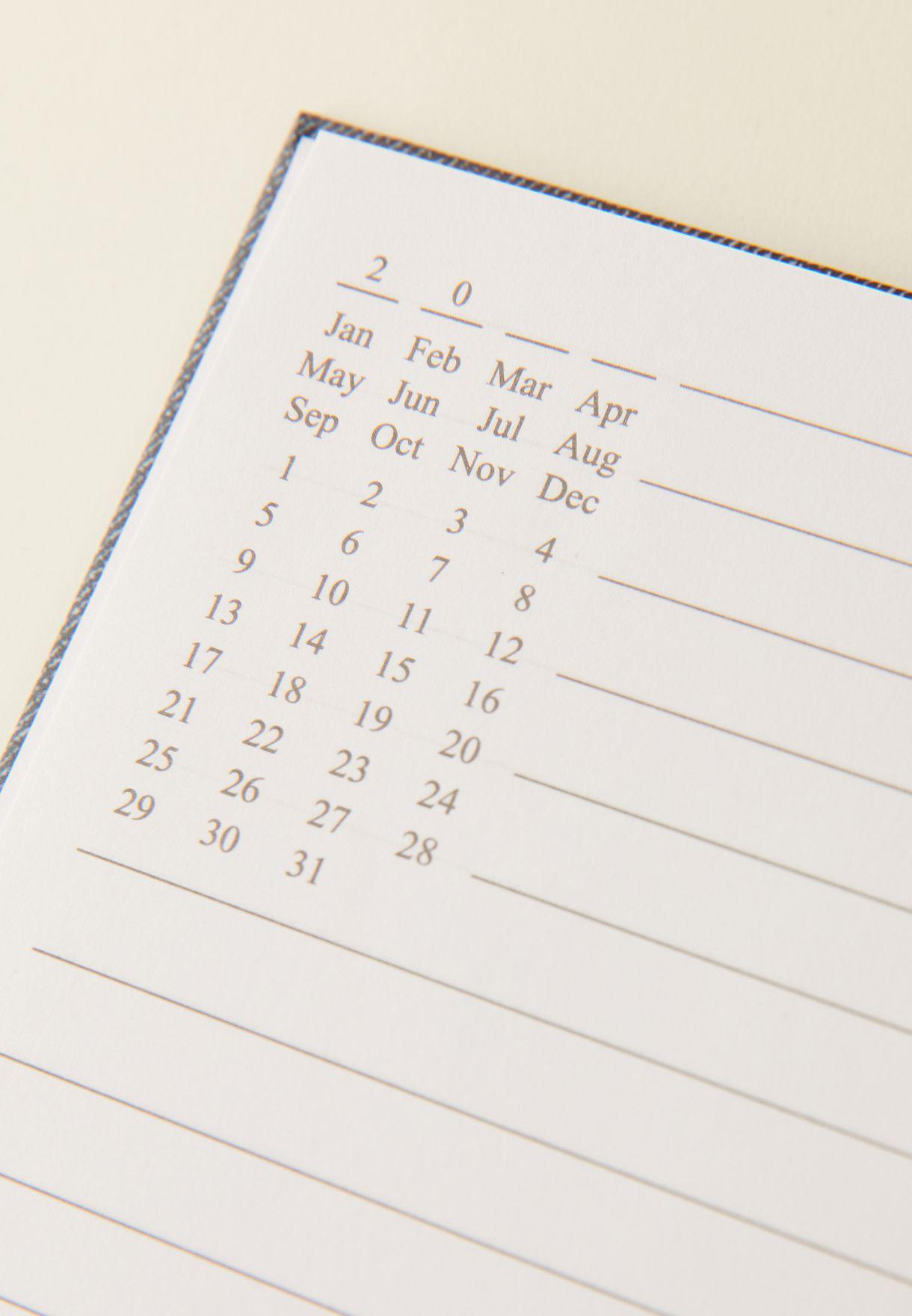 A5 Denim Notebook