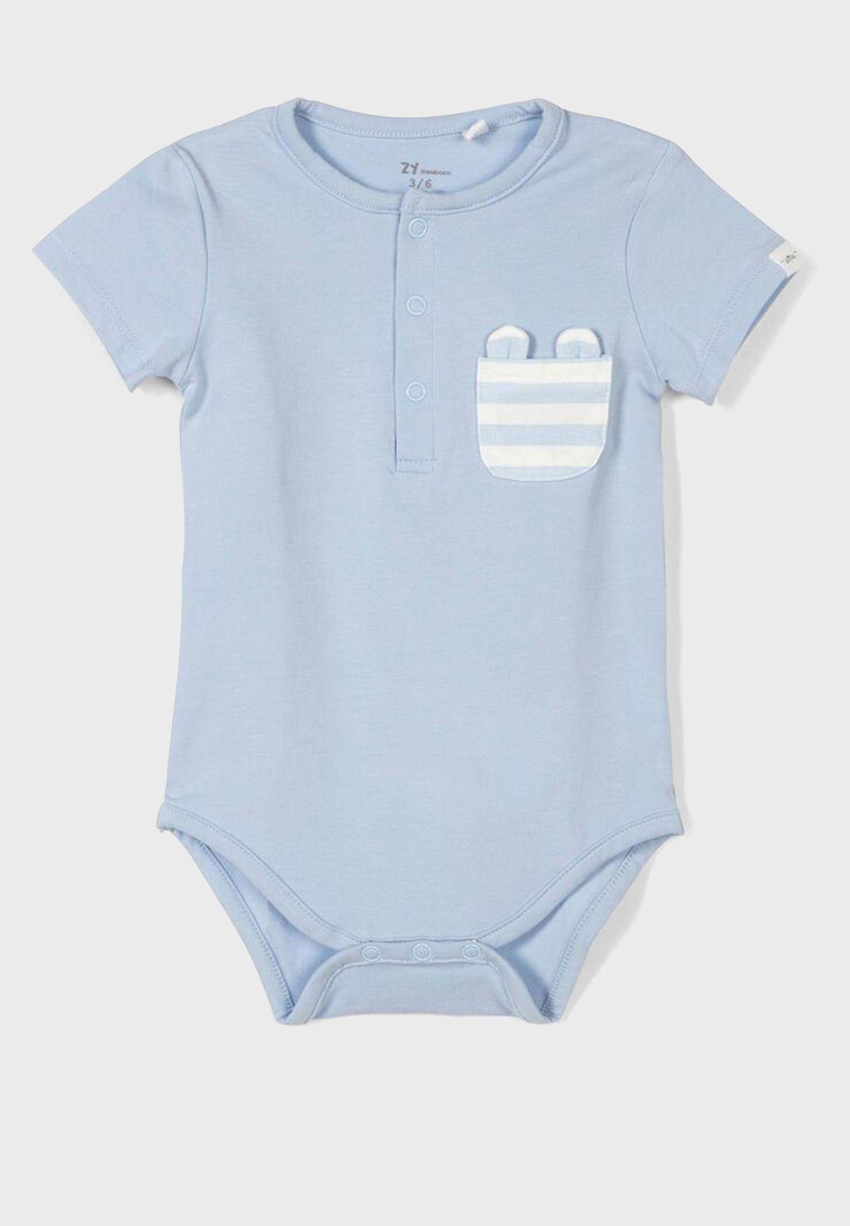 Infant 2 Pack Assorted Bodysuit