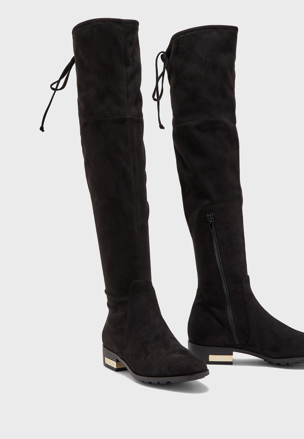 Guess Womens Zafira Riding Boot