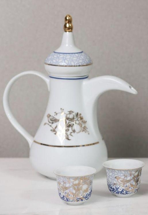Kunooz Arabic Coffee Pot