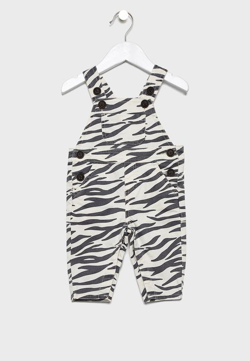 Infant Printed Dungaree