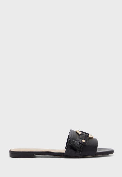 Cadesa Low Heel Sandal
