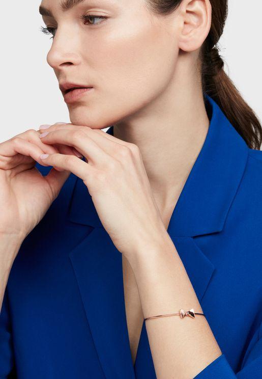 Tarsha Tux Bow Ultra Fine Cuff Bracelet