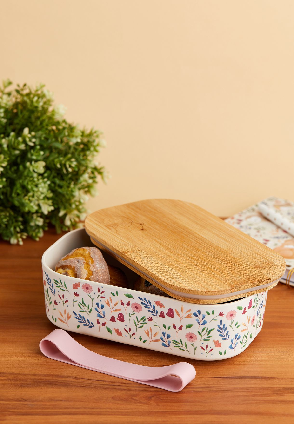 Forest Folk Bamboo Lunch Box