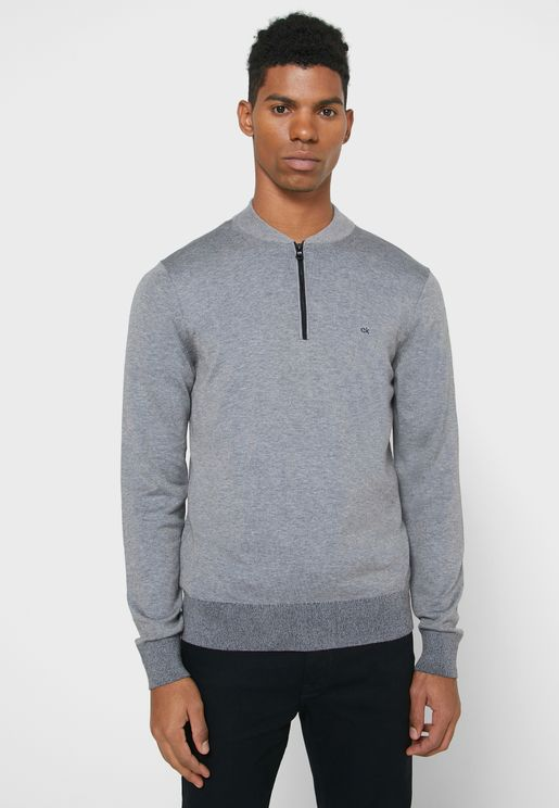 Essential Half Zip Sweatshirt