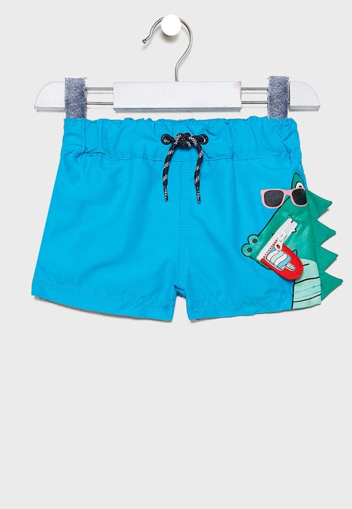 Kids Graphic Shorts