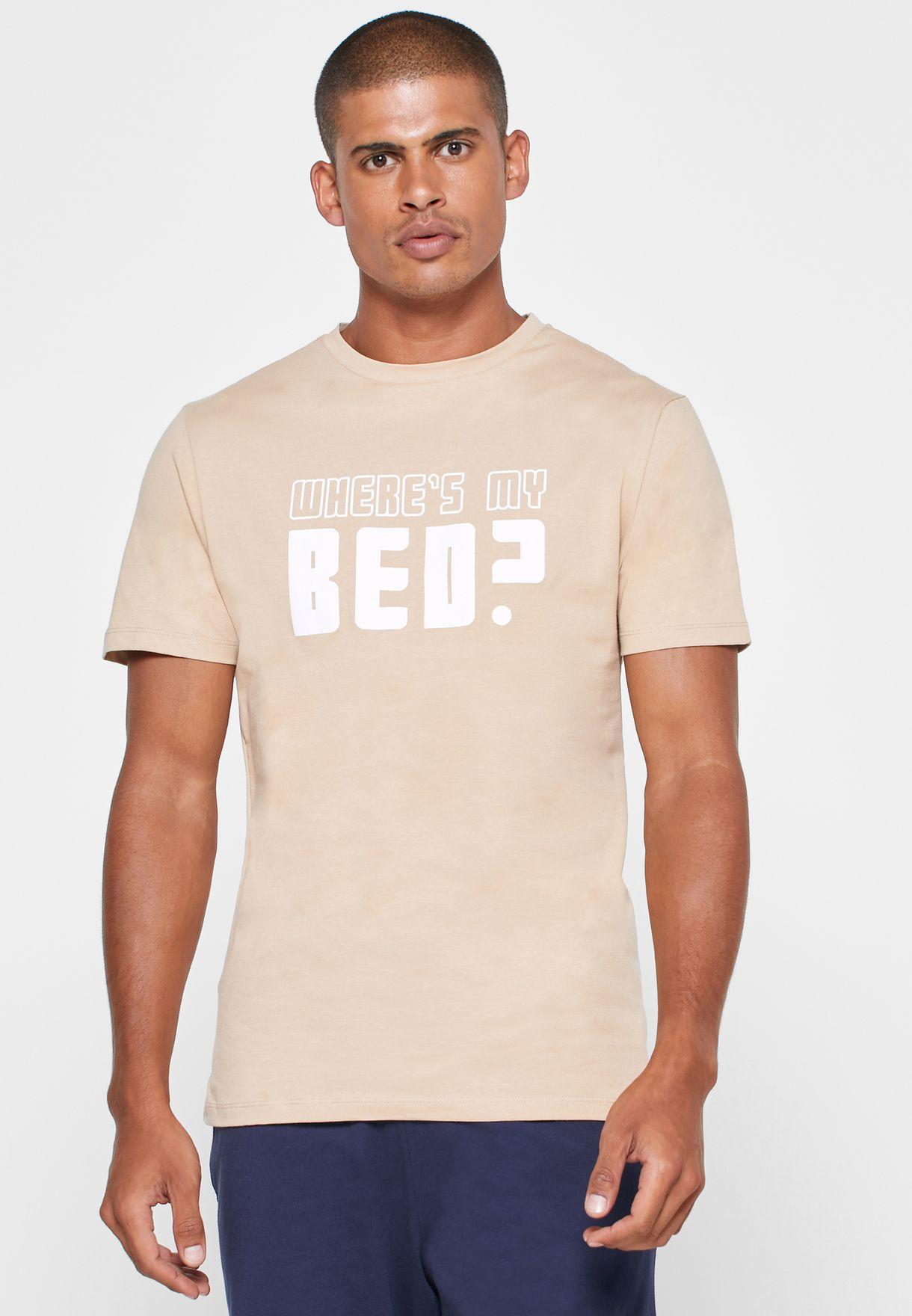 Where's My Bed Nightwear Set