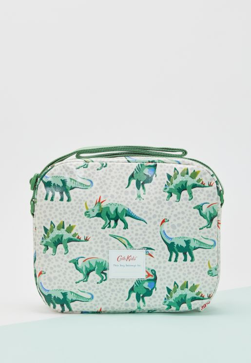 Jurassic Friends Print Lined Lunch Bag