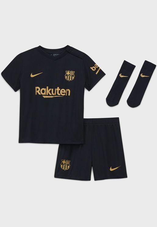 Infant FC Barcelona Away Set