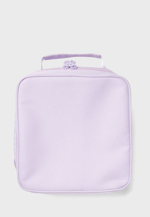 Lilac Lunch Bag