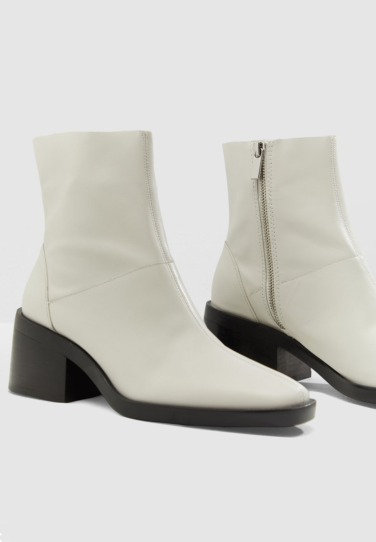 1100006240f Shop Topshop white Arctic Low Ankle Boot 32A06PWHT for Women in UAE ...