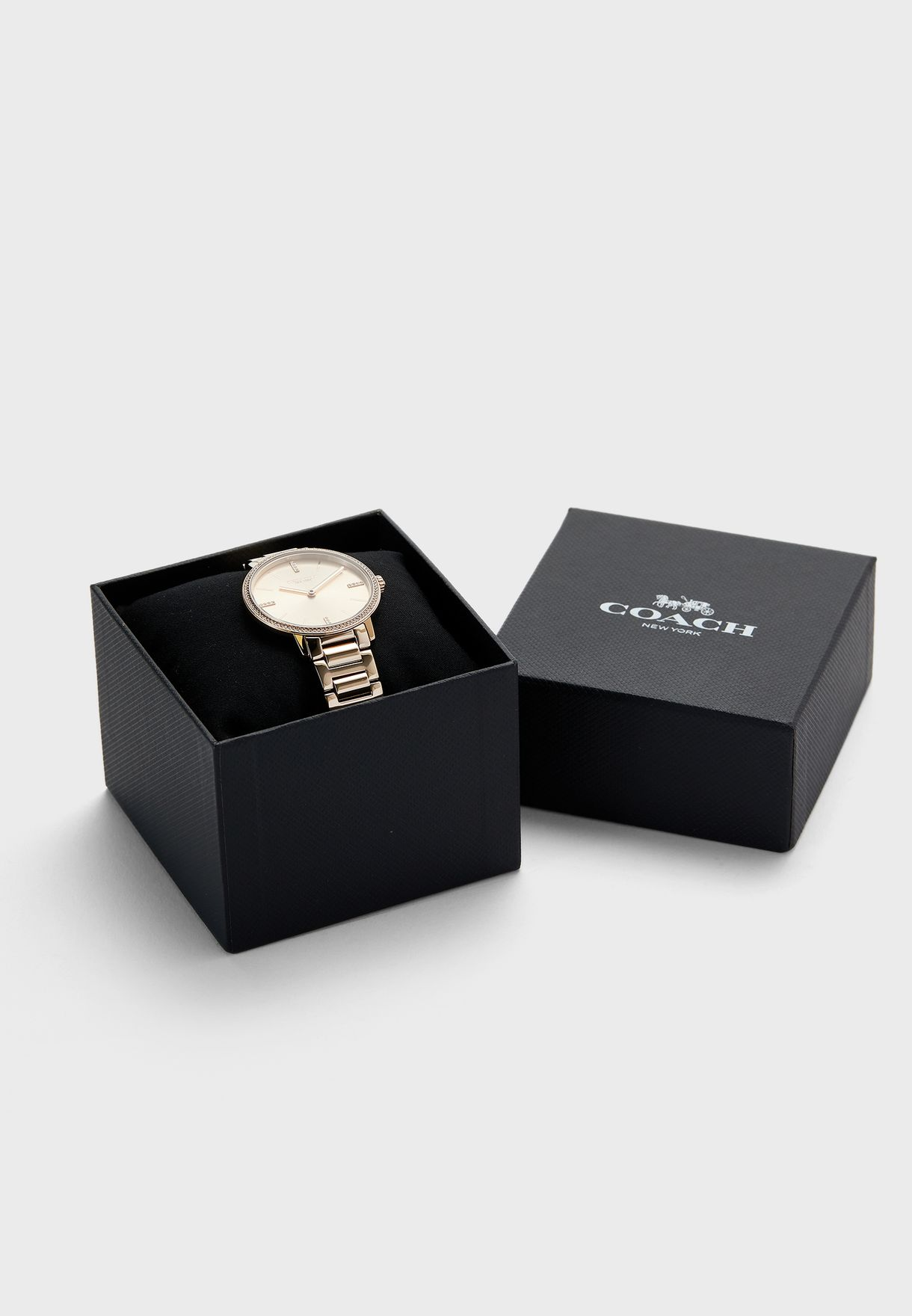 Audrey Ionic Plated Carnation Watch