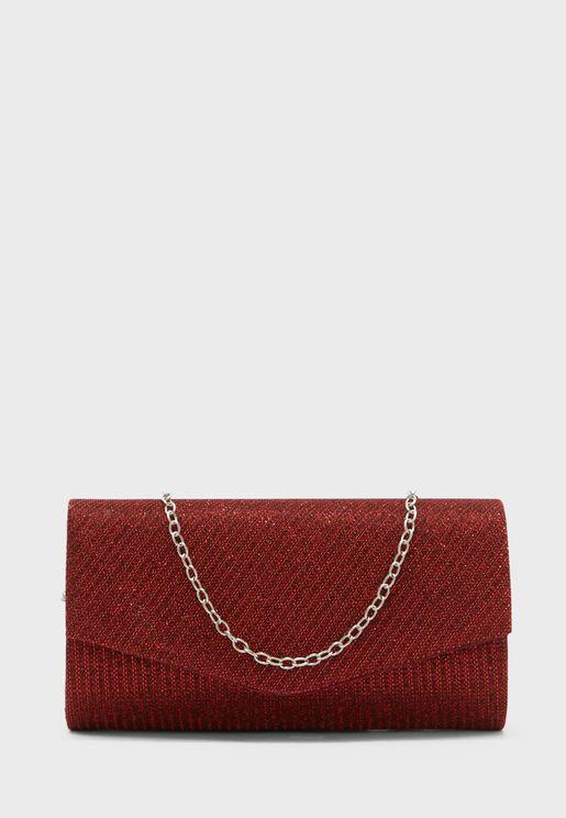 Shimmer Clutch Bag