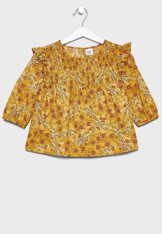 Infant Kids Floral Top