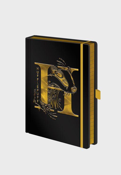 Harry Potter Hufflepuff Foil Notebook
