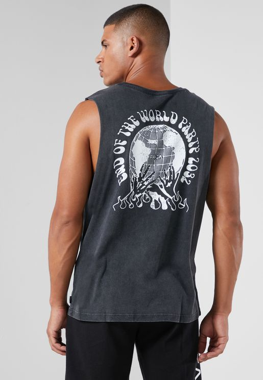 World Party Muscle Tank