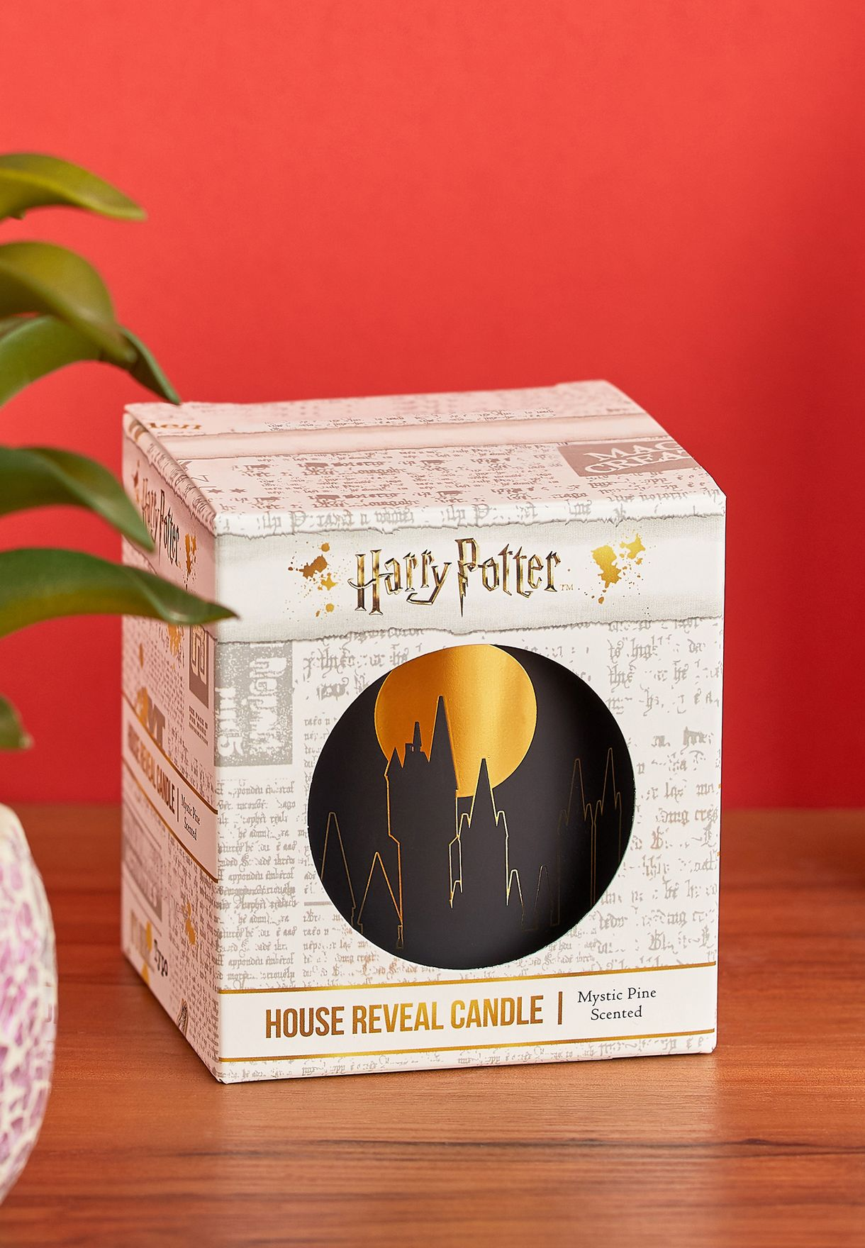Harry Potter Hogwarts Candle
