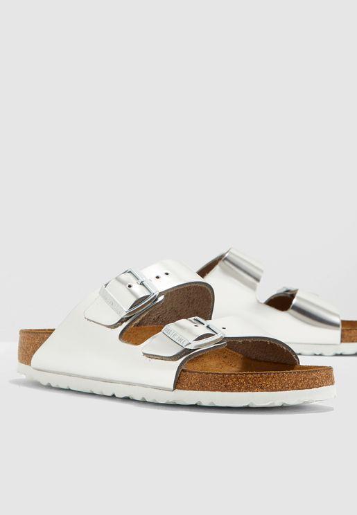 Double buckle Sandal