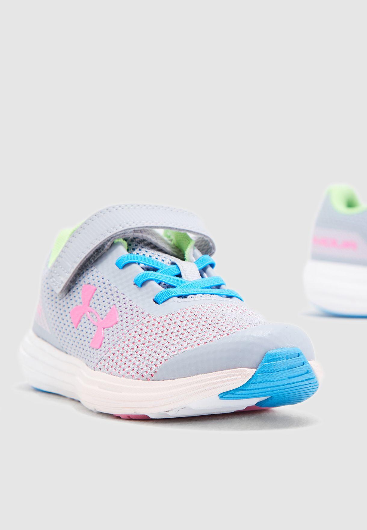 separation shoes 7913f 1ca93 Shop Under Armour multicolor Kids Surge RN Prism AC 3021175-101 for ...