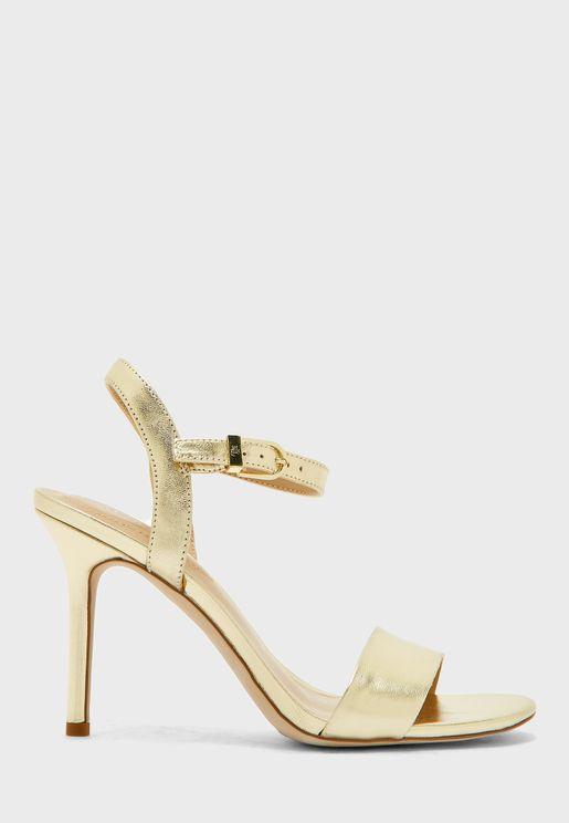 Gwen Ankle Strap High Heel Sandal